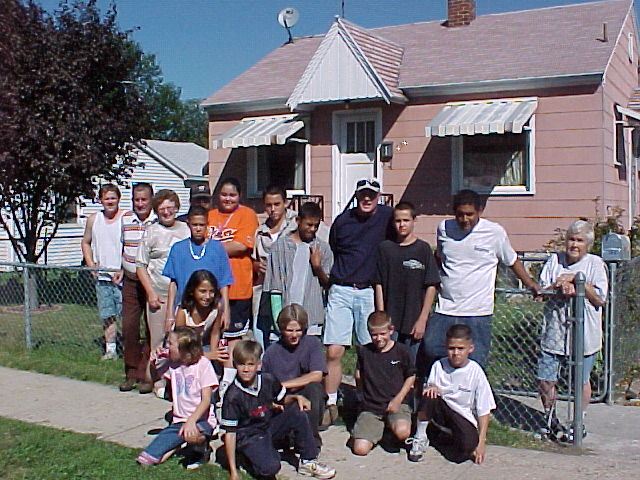 West Ogden Clean-Up 2001